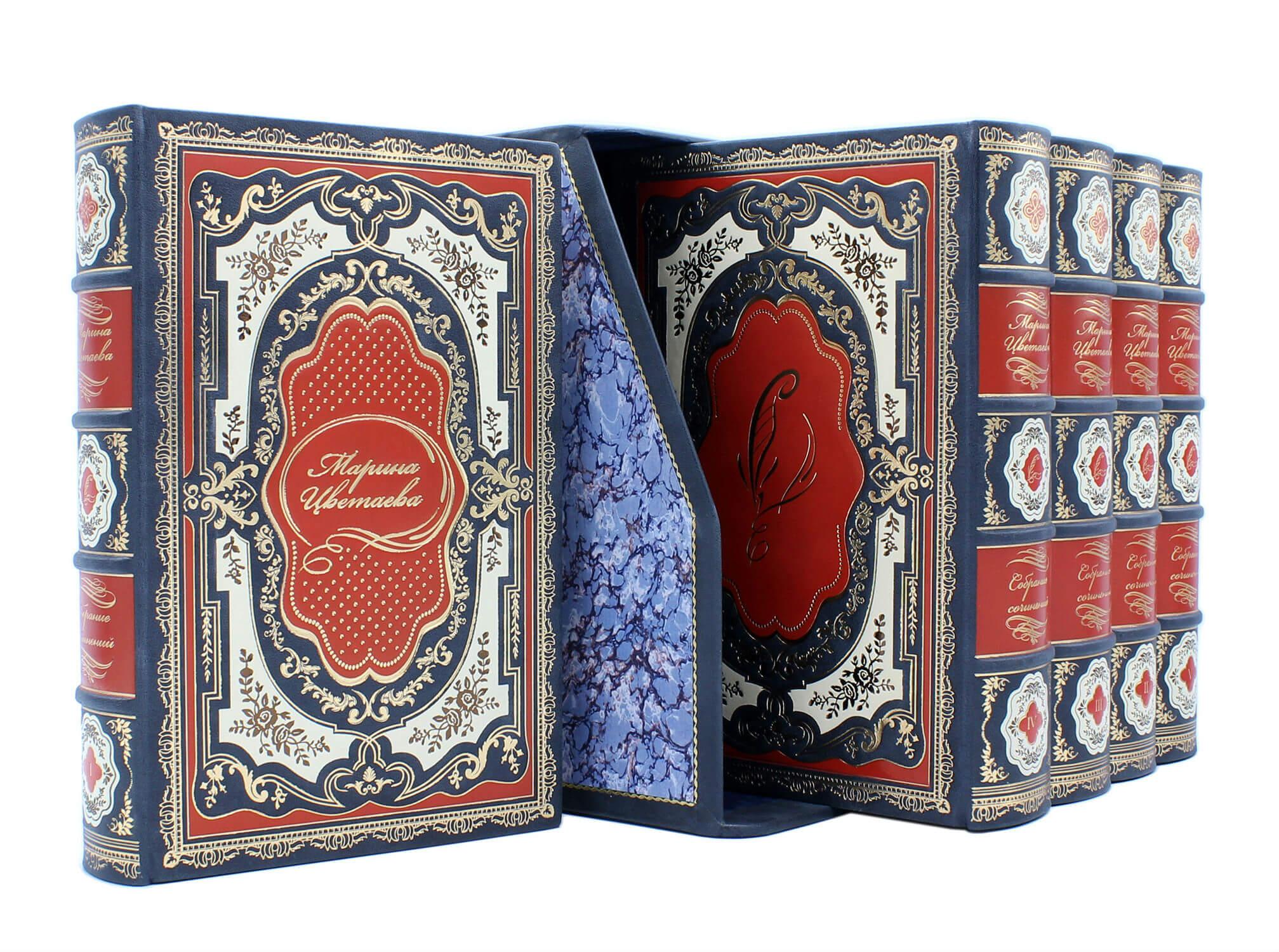 Цветаева. Собрание сочинений 5 томов, подарочное издание