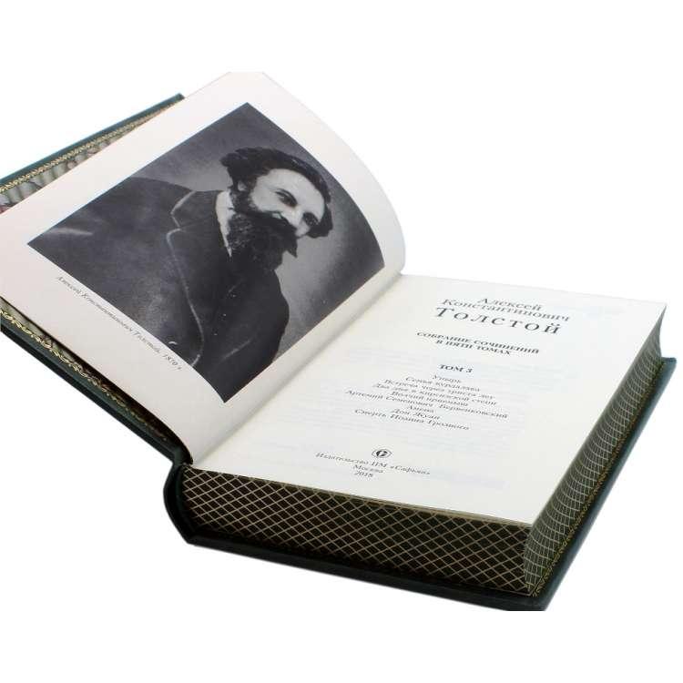 Алексей Толстой 5 томов в кожаном переплете фото 7