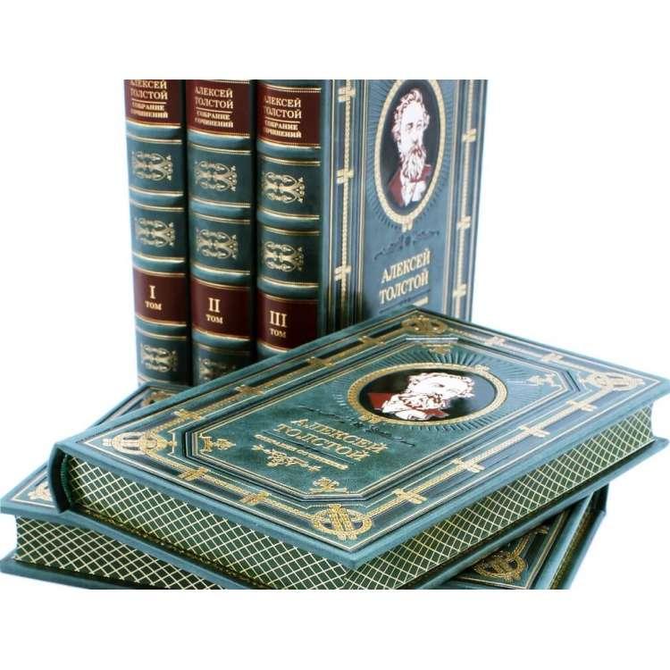 Алексей Толстой 5 томов в кожаном переплете фото 4