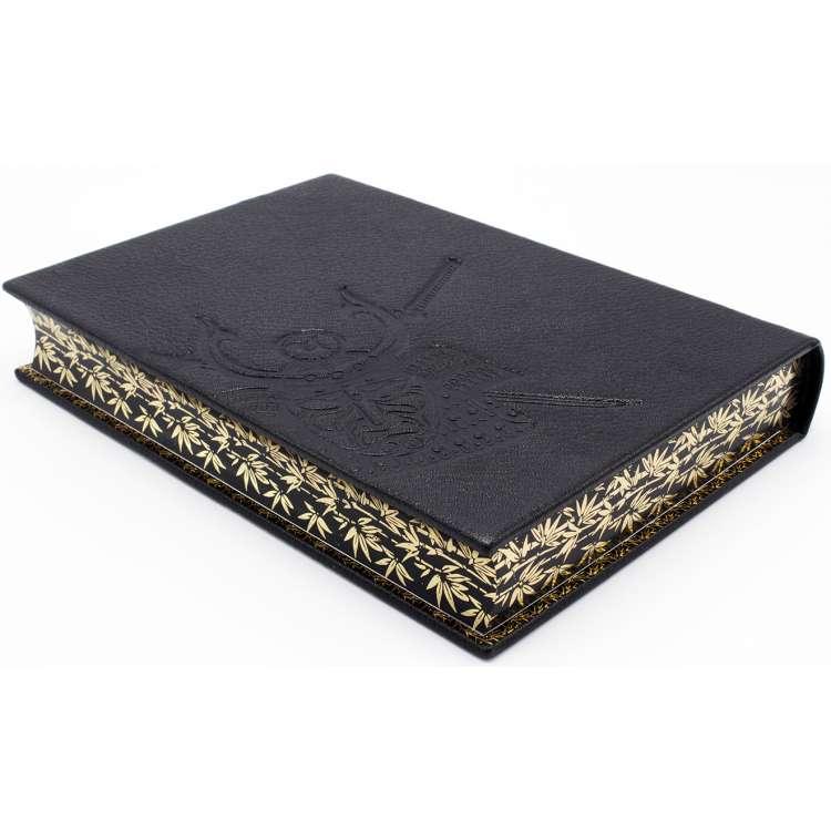 Кодекс чести самурая Бусидо, кожаный переплет фото 3