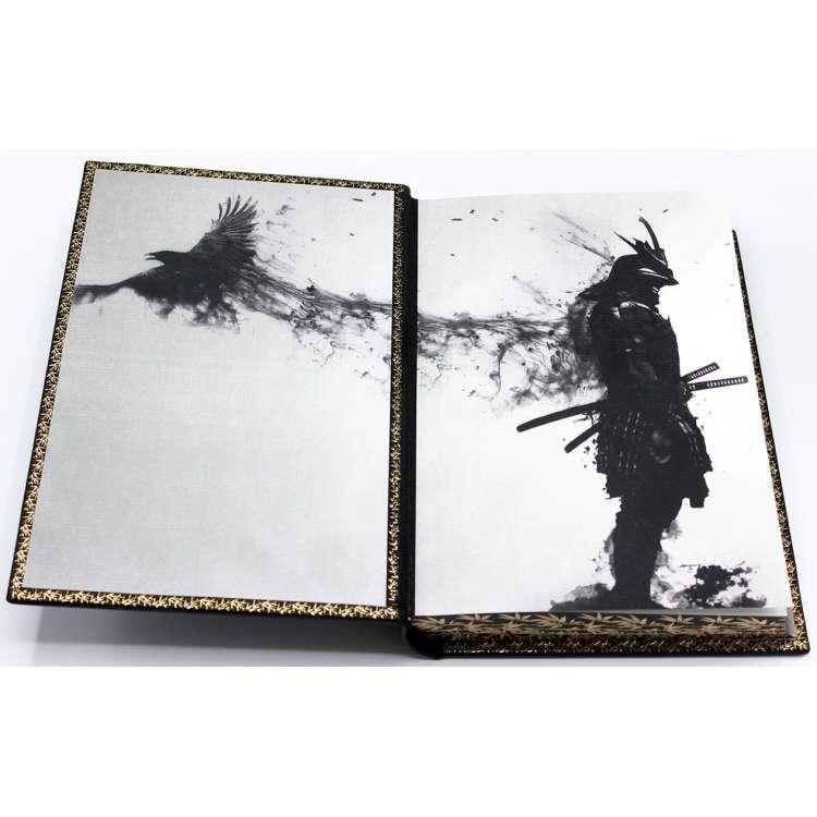Кодекс чести самурая Бусидо, кожаный переплет фото 4
