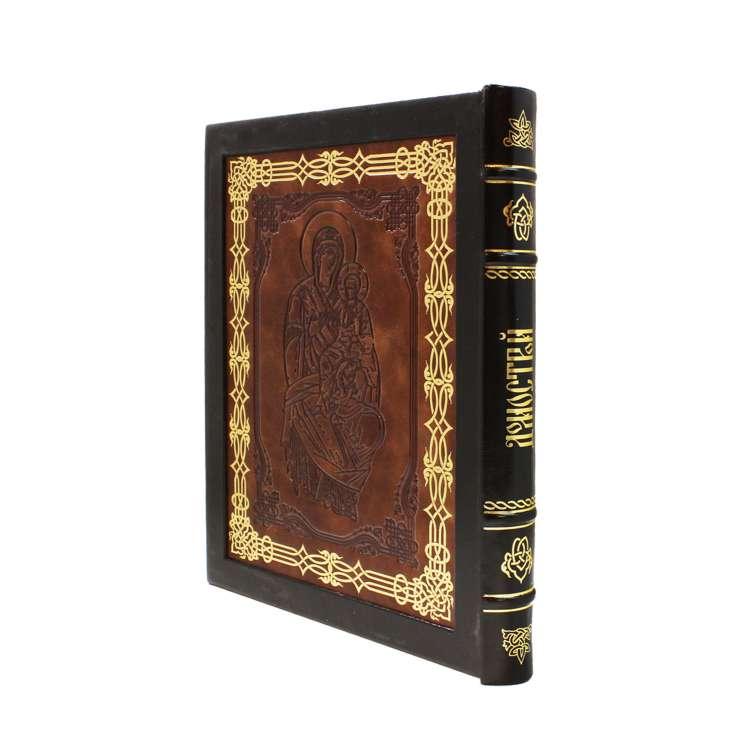 Книга Домострой 16 века кожаный переплет фото 2