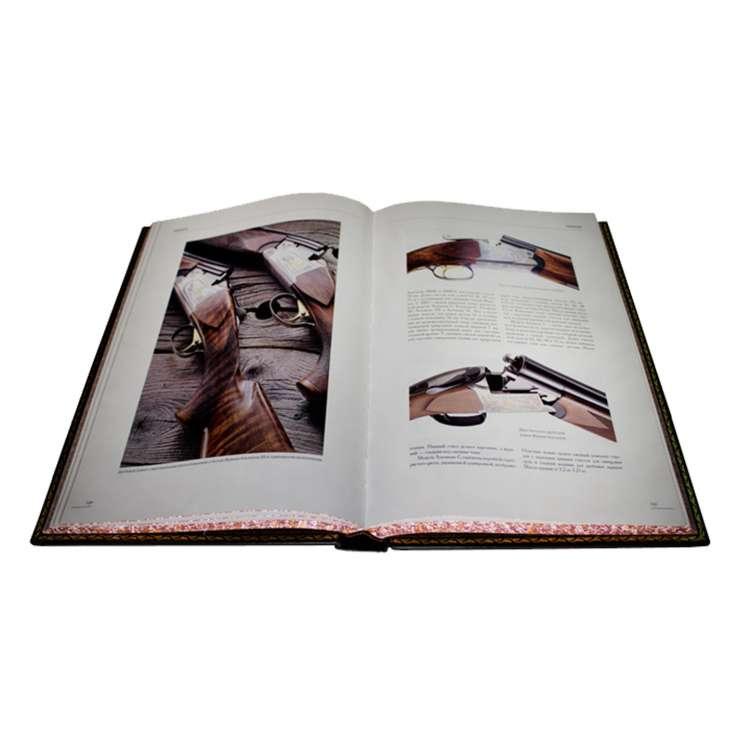 Энциклопедия охотничьего оружия страницы книги с иллюстрациями
