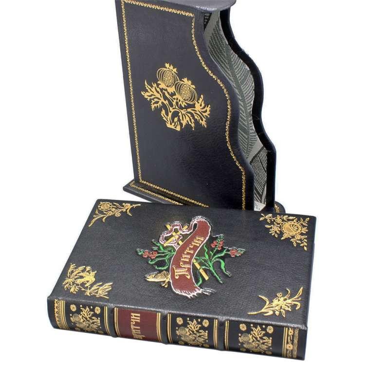 Книга притчи в футляре, кожаный переплет фото 3