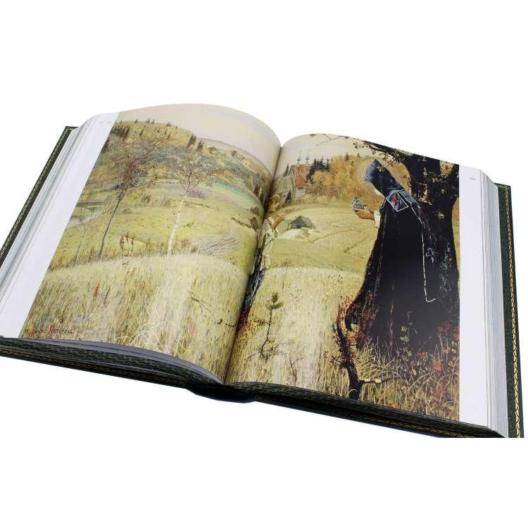 Третьяковская галерея подарочная книга иллюстрации фото