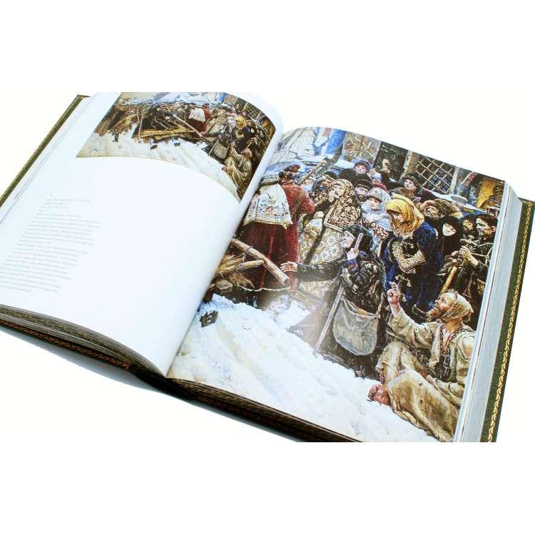 Третьяковская галерея подарочная книга иллюстрации фото 4