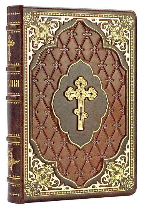 Библия в кожаном переплете купить